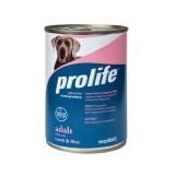 Prolife Adult All Breeds Agnello e Riso Umido per Cani