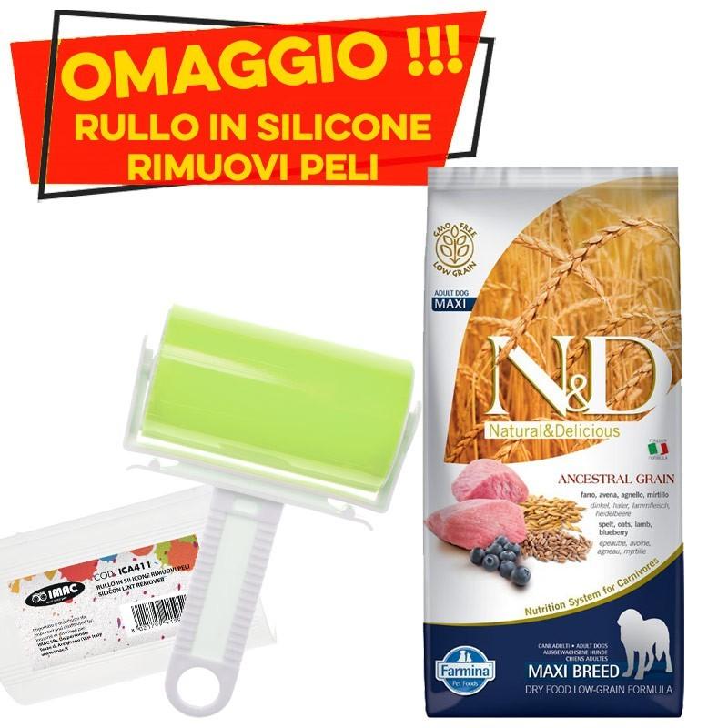 Farmina N&D Low Grain Adult Maxi Agnello