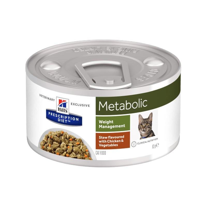 Hill's Prescription Diet Feline Metabolic Spezzatino con Pollo e Verdure