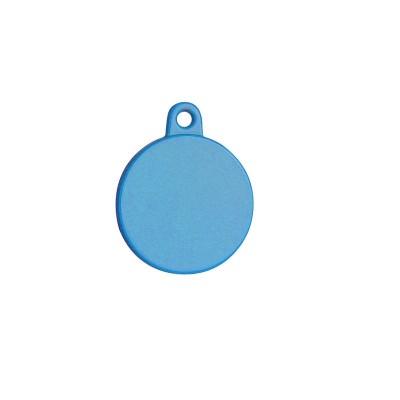 Petitamis Medaglietta Laser Tonda Piccola Blu