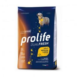 Prolife Dual Fresh Adult Medium/Large Agnello, Bufalo e Riso