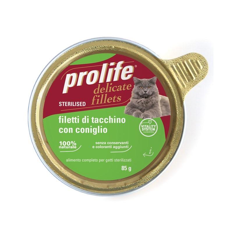 Prolife Adult Sterilized Filetti di Tacchino e Coniglio