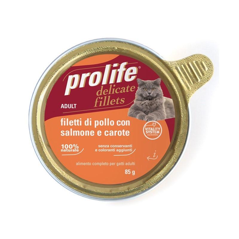 Prolife Adult Filetti di Pollo con Salmone e Carote