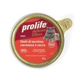 Prolife Adult Filetti di Tacchino con Manzo e Zucca