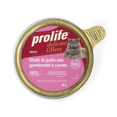 Prolife Adult Filetti di Pollo con Gamberetti e Carote