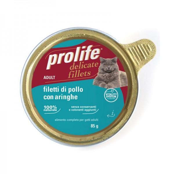 Prolife Adult Filetti di Pollo con Aringhe