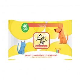 LeoPet Salviette Igienizzanti Citronella