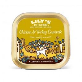 Lily's Kitchen Pollo e Tacchino in Casseruola Umido per Cani 150g