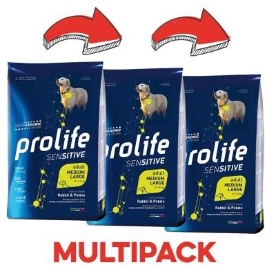 Prolife Adult Medium/Large Sensitive Agnello e Patate