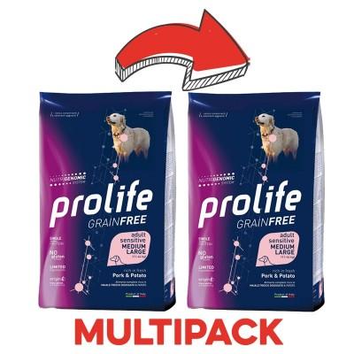 Prolife Adult Medium/Large Sensitive Maiale e Patate