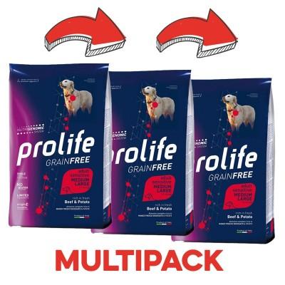Prolife Adult Medium/Large Sensitive Manzo e Patate