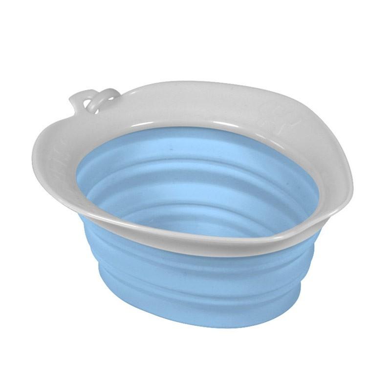 United Pets Ciotola Leaf Bowl Azzurra