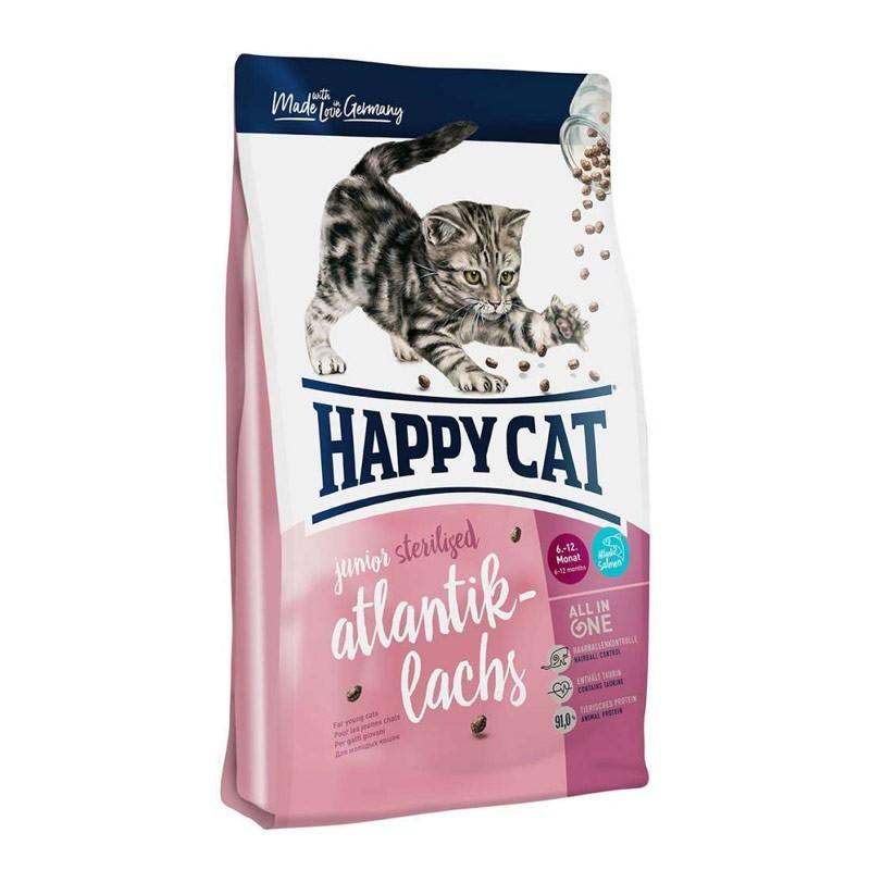 Happy Cat Junior Sterilized al Salmone
