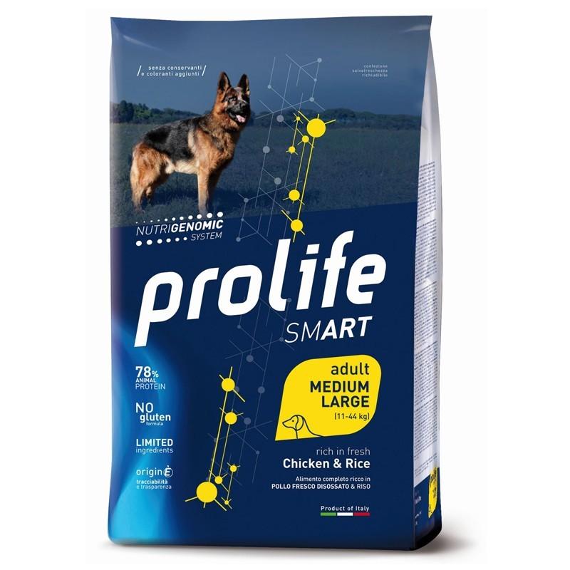 Prolife Dog Smart Adult Medium/Large Pollo e Riso