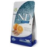 Farmina N&D Grain Free Adult Aringa e Arancia per Gatti