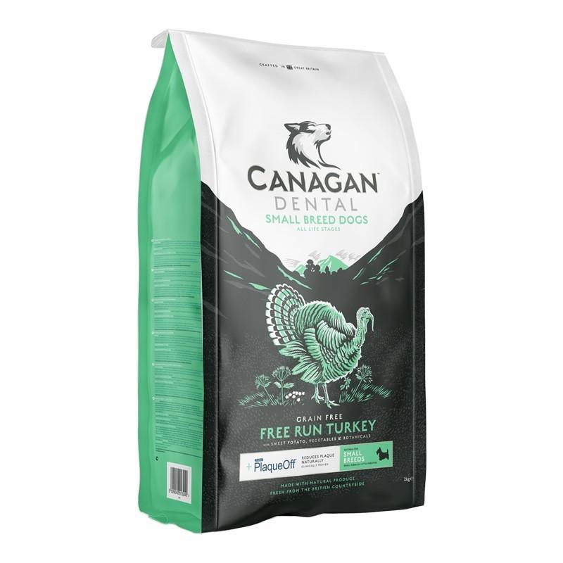 Canagan Dog Free Run Turkey Dental Small Breed