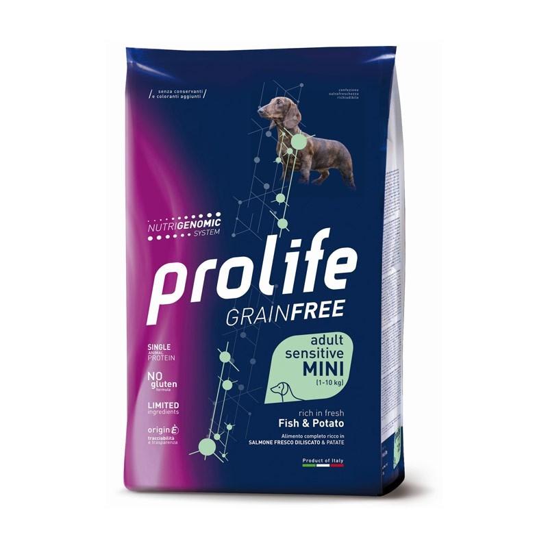Prolife Dog Adult Sensitive Mini Pesce e Patate