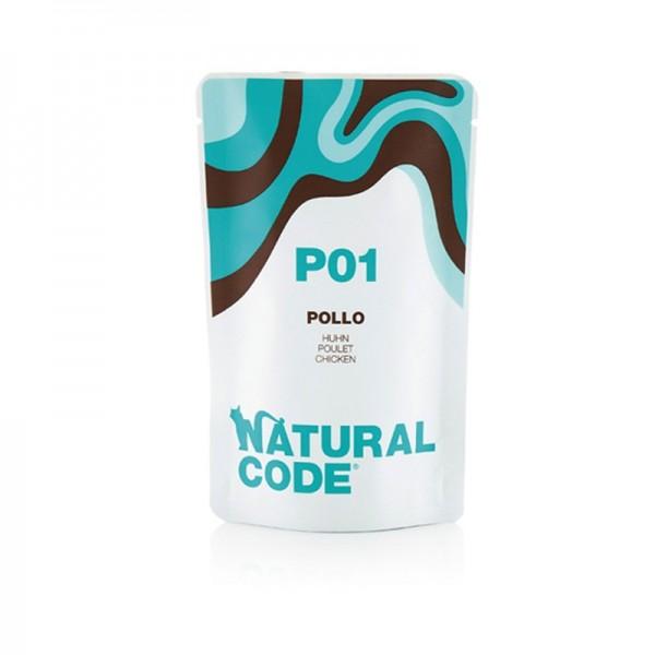 Natural Code Jelly Tonno e Surimini per Gatto
