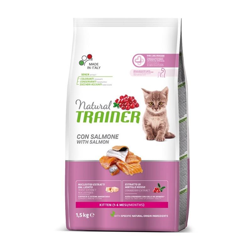 Trainer Natural Kitten con Salmone