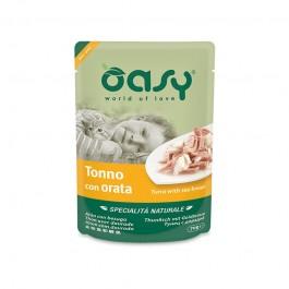 Oasy Cat Natural Adult Tonno e Orata