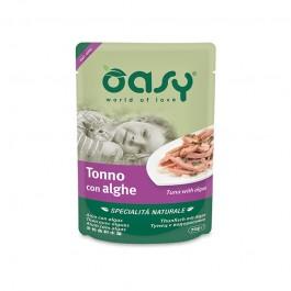 Oasy Cat Natural Adult Tonno e Alghe