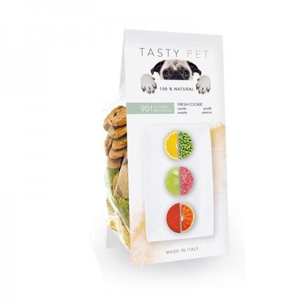 Tasty Pet Biscotti Vitamin Revitalize con Maiale e Carote