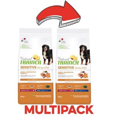 Trainer Natural Sensitive Adult Medium/Large con Salmone