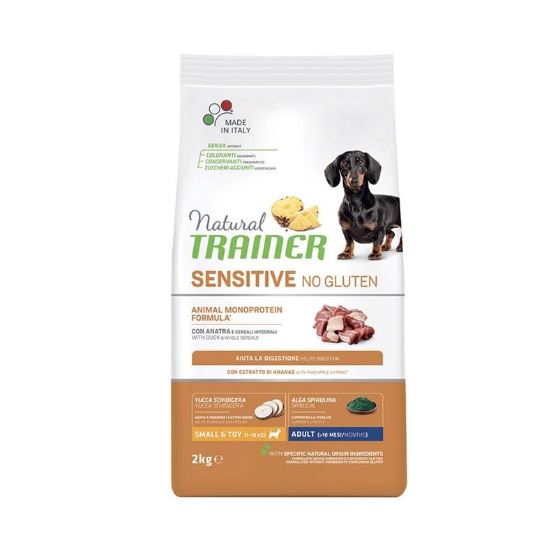 Trainer Natural Sensitive No Gluten Adult Mini con Anatra