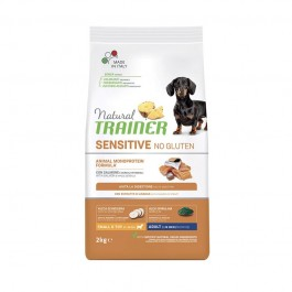 Trainer Natural Sensitive No Gluten Adult Mini con Salmone