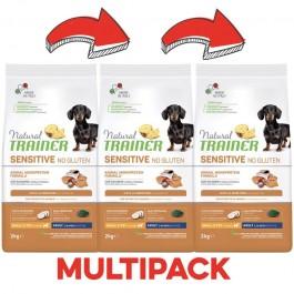 Trainer Natural Sensitive No Gluten Adult Mini con Salmone
