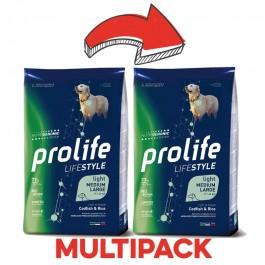 Prolife Adult Medium/Large Light Pesce Bianco e Riso