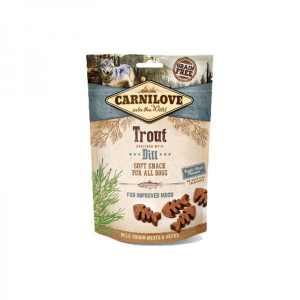 Carnilove Snack Semi Most Trota e Aneto per Cani