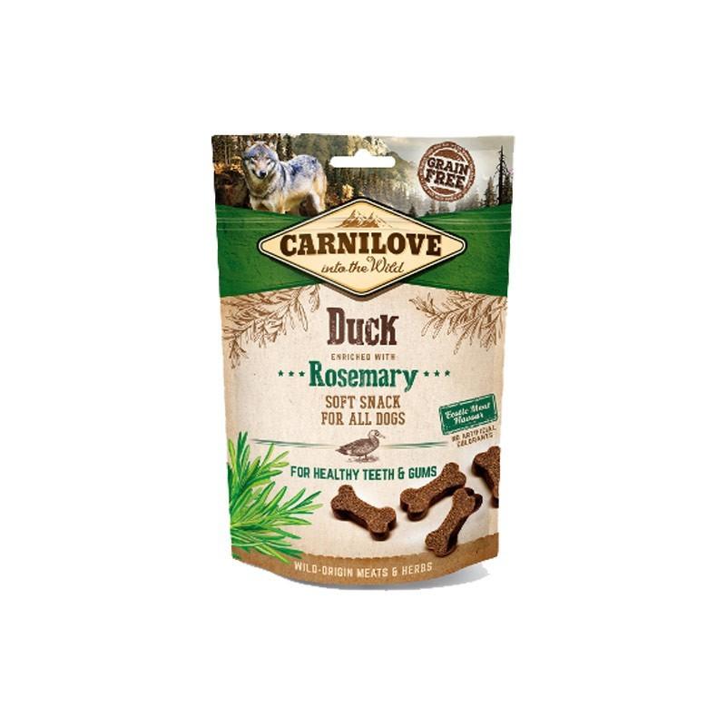 Carnilove Dog Snack Semi-Umido Anatra e Rosmarino