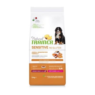 Trainer Natural Sensitive Puppy Medium/Large con Salmone