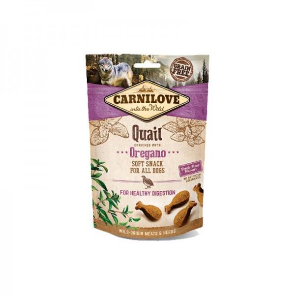 Carnilove Snack Semi Most Quaglia e Origano per Cani
