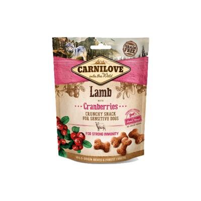 Carnilove Snack Cruncy Agnello e Mirtilli Rossi per Cani