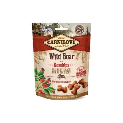 Carnilove Snack Cruncy Cinghiale e Rosa Canina per Cani
