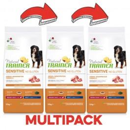 Trainer Natural Sensitive Adult Medium-Maxi con Maiale