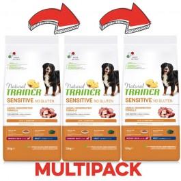 Trainer Natural Sensitive No Gluten Adult Medium - Maxi con Anatra