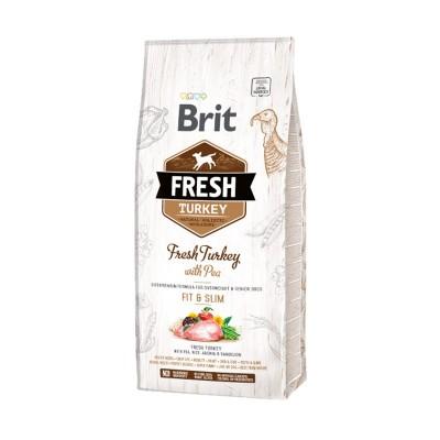 Brit Fresh Dog Adult Fit & Slim Tacchino e Piselli