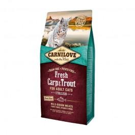 Carnilove Adult Cat Sterilised Carpa e Trota