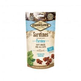 Carnilove Cat Snack Semi-Umido Sardine e Prezzemolo