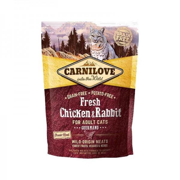 Carnilove Fresh Adult Cat Pollo e Coniglio