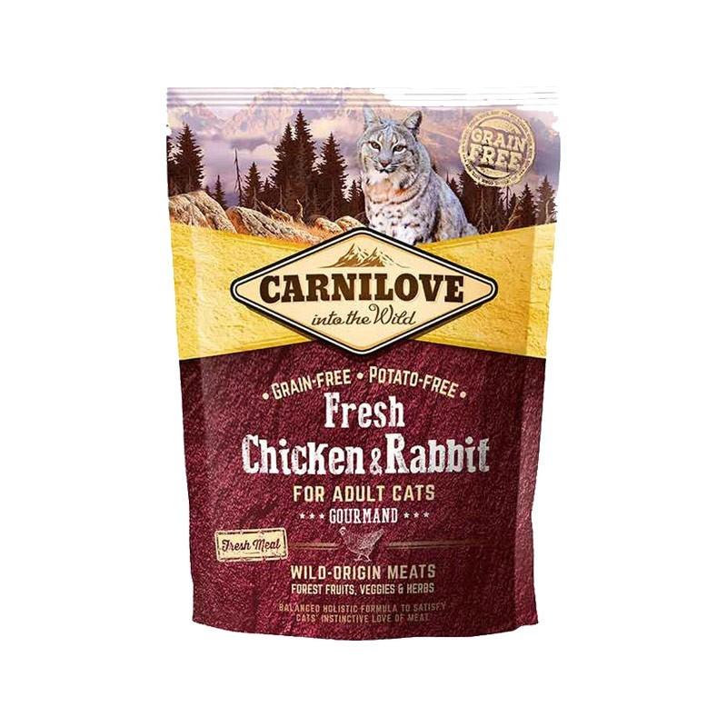 Carnilove Cat Fresh Adult Pollo e Coniglio