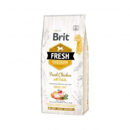 Brit Fresh Adult All Breeds Pesce e Zucca
