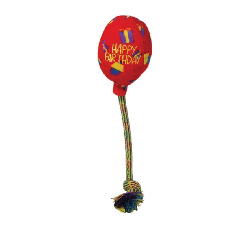 KONG Peluche Palloncino Rosso Birthday