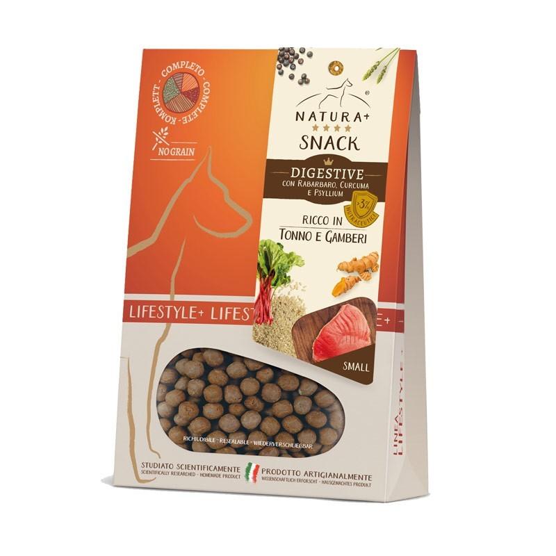 Natura+ Snack Digestive Small Tonno e Gamberetti