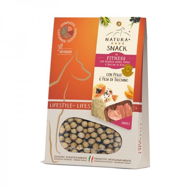 Natura+ Snack Fitness Small Pollo e Fesa di Tacchino