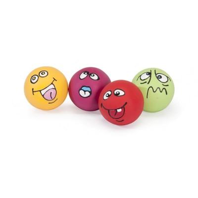 """Camon Palla in Latex con Squeaker """"Expression Ball"""""""