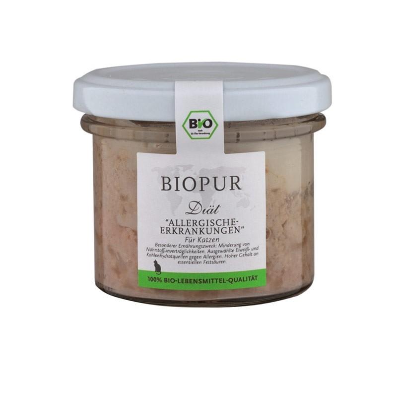 Biopur Vet Diet Allergie Umido per Gatti 100 g